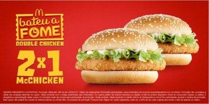 McChicken 2x1 - Bateu a Fome