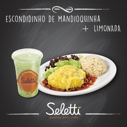 Combo Escondidinho (Escondidinho de Mandioquinha + Limonada)