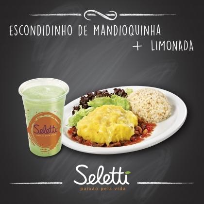 Combo Escondidinho (Escondidinho de Mandioquinha + Suco Tradicional) – Shopping Center 3