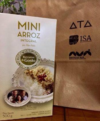 Mini Arroz Integral com 10% de desconto