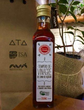 Vinagre de cana-de-açúcar com 10% de desconto
