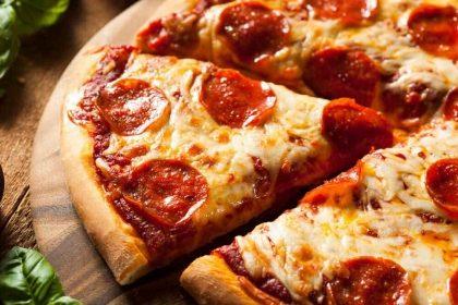 Pizza com 20% de desconto