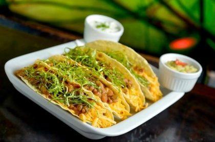 Os deliciosos Tacos de la Frontera por apenas R$19,00!
