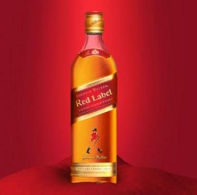 [18+ anos] Whisky Red Label 8 Anos com 14% de desconto