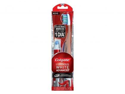 50% de desconto na escova Colgate Lumin GTS caneta branqueadora