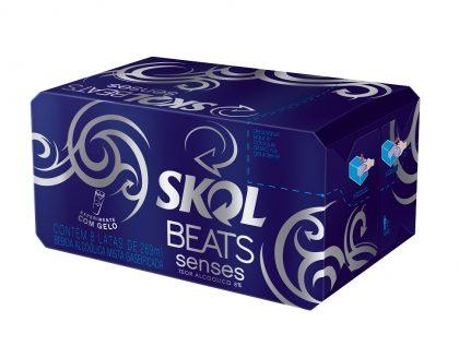 Skol Beats Senses ou Extreme Lata 269ml – 20% de desconto no Pack 8 unidades [18+ anos]