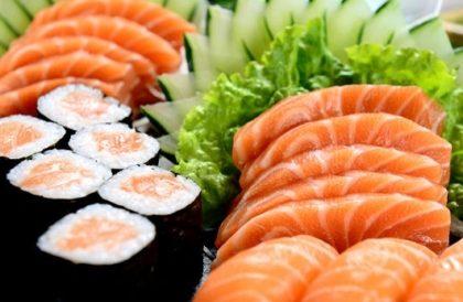 Jantar: Rodízio Japonês completo + Sobremesa