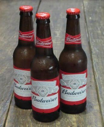 3 Cervejas Budweiser por R$ 20,00! [18+ anos]