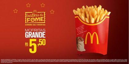 McFritas Grande R$5,50 - Bateu a fome