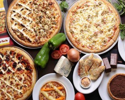 BALCÃO E SALÃO: Qualquer pizza do cardápio por R$ 46,00! Até 30% de desconto!