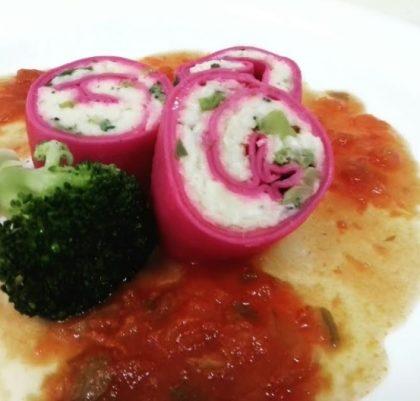 Mamma Bia: Rondelli recheado de alho poró, brócolis e queijo ao sugo com 10% de desconto