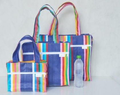 (25 a 27/8) Sacola Tropical: Sacolas e Necessaires coloridas com 30% de desconto!