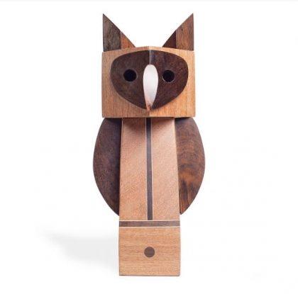 (25 a 27/8) Popoke: Esculturas de Coruja com 10% de desconto!