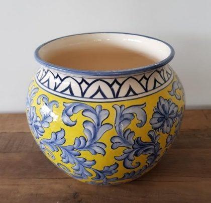 (25 a 27/8) Marcia Scott Cerâmica: Vasos de Cerâmica pintados à mão em baixo esmalte com 10% de desconto!