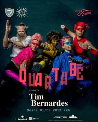 SEXTA: Compre 1 ingresso para o show QUARTABE // PART. TIM BERNARDES e ganhe outro!