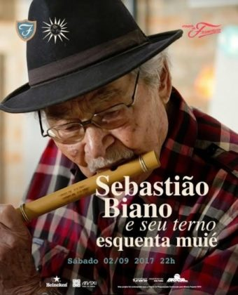 SÁBADO: Compre 1 ingresso para o show SEBASTIÃO BIANO e ganhe outro!