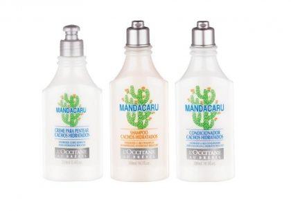 Linha completa de cabelos Mandacaru (Shampoo, Condicionador e Creme para Pentear) com 20% de desconto!