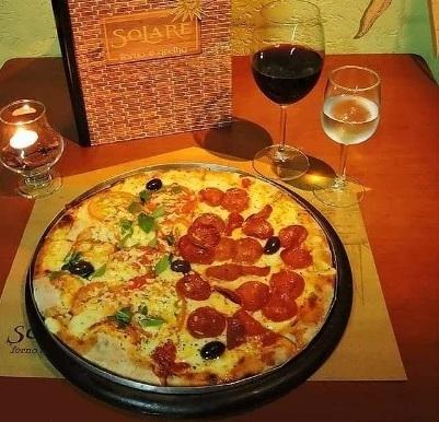 Todas as pizzas do cardápio com 30% de desconto!