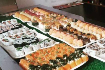 Almoço: Buffet japonês à vontade com 20% de desconto!