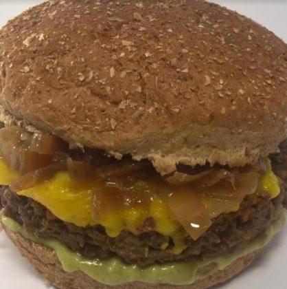 Morrones Comida Vegetariana: Vegburger Shiitake por apenas R$ 15,00!