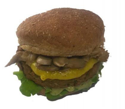 Morrones Comida Vegetariana: Vegburger Tofu com Espinafre por apenas R$ 13,00!
