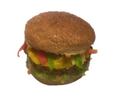 Morrones Comida Vegetariana: Vegburger Mex Burger por apenas R$ 12,00!