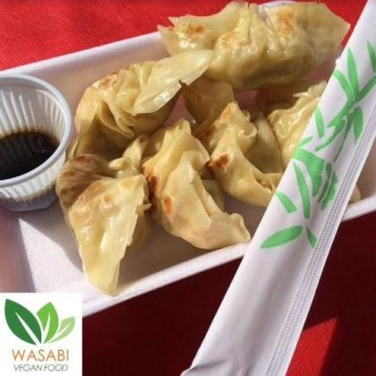 (01/10) Wasabi: Porção de Guiozá Vegano com 20% de desconto