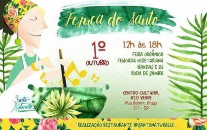(01/10) Fejuca do Santo no Centro Cultural Rio Verde com 15% de desconto