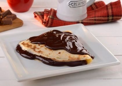 Compre 01 Crepe Salgado e GANHE 01 Baby Crepe Doce de Chocolate ou Churros