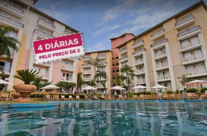 Tuti Resort - Thermas de Olímpia a partir de R$133 + Cupom de 8% OFF