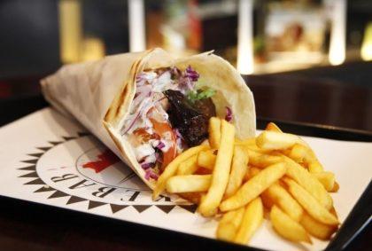 Kebab de Falafel com 20% de desconto