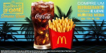 Compre Refrigerante e Leve McFritas Média - Bateu a Fome