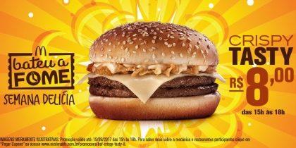 Crispy Tasty R$8 – Bateu a Fome