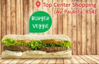 Sanduíche Premium Veggie (com burger vegetariano feito a mão)