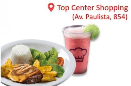Burger no Prato + Pink Lemonade ou Refrigerante por apenas R$ 17,90