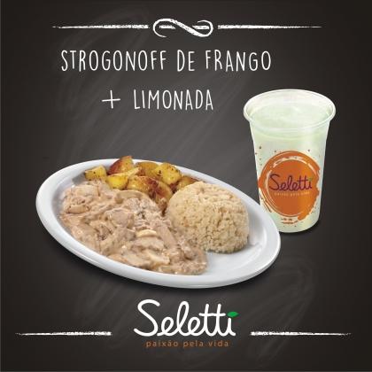 Center 3: Combo Strogonoff de Frango (Strogonoff de Frango + Limonada)