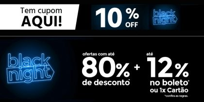 Cupom 10% OFF no site do Submarino