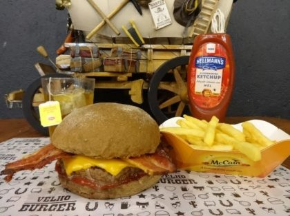 Combo R$ 25: Burger