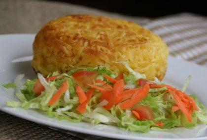 Batata Rostie pequena (5 opções de sabores) + Refrigerante + 6 Onions Rings por R$ 25,90!