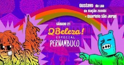 (21/10) QBeleza com Gustavo da Lua do Nação Zumbi + Chiquinho do Mombojó