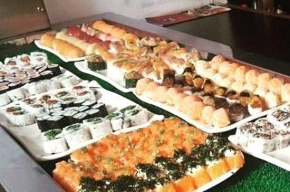 Buffet Japonês completo no almoço por apenas R$ 36,50!