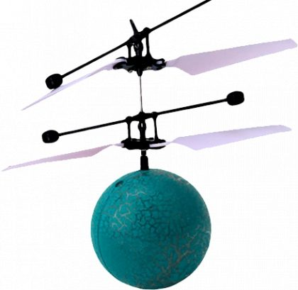 Drone Flying Ball Azul 377-3 por R$ 179,90!