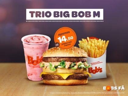 Trio Big Bob M por R$14,50