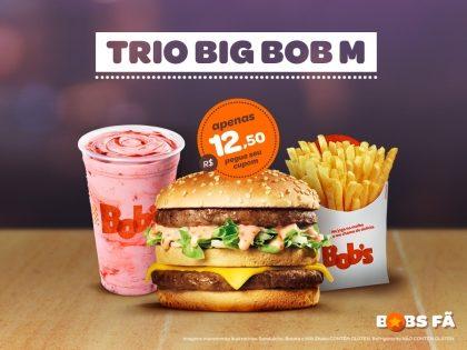 Trio Big Bob M por R$12,50