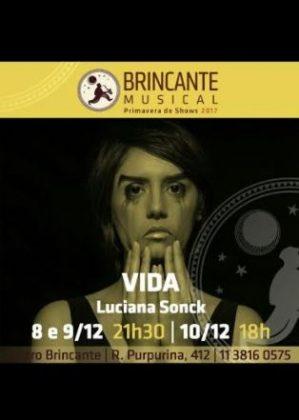 Semana Black Friday VilaMundo: Luciana Sonck apresenta o espetáculo VIDA!