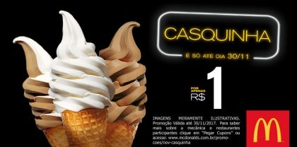 Casquinha R$1