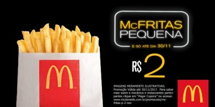 McFritas Pequena R$ 2