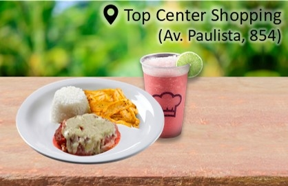 Parmegiana Burger + Pink Lemonade por R$ 18,90