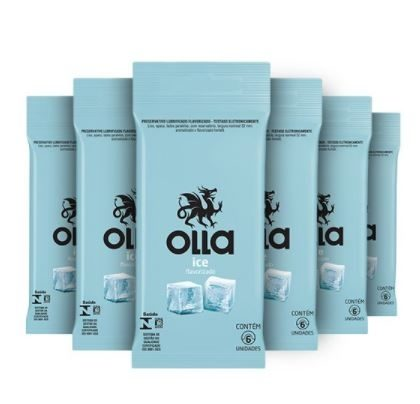 Kit Preservativo Olla Ice Leve 6, Pague 3