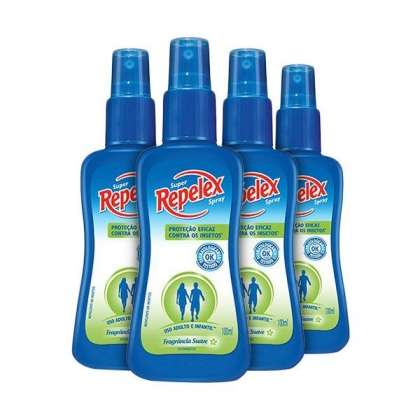 Kit Repelente Repelex Fragância Suave Spray